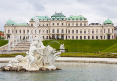 Belvedere palace Vienna Austria Stock Photography