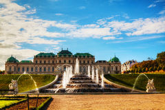 Belvedere palace in Vienna, Austria Royalty Free Stock Photos