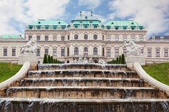 Belvedere palace Stock Photo