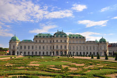 Belvedere. Palace in Vienna, Austria Royalty Free Stock Images