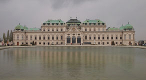 Belvedere Palace in Vienna Royalty Free Stock Images