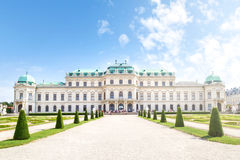 Belvedere Palace, Vienna, Austria Royalty Free Stock Photo