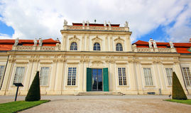 Belvedere Palace in Vienna. Austria Royalty Free Stock Image