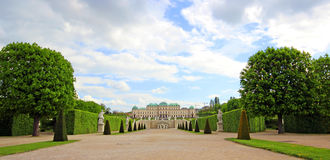 Belvedere Palace in Vienna. Austria Stock Photography