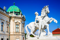 Belvedere Palace, Vienna, Austria Stock Photo