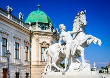 Belvedere Palace, Vienna, Austria Stock Photo