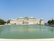Belvedere Palace In Vienna Royalty Free Stock Image