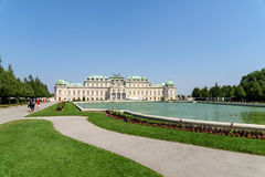 Belvedere Palace In Vienna Stock Photography