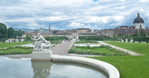 Belvedere palace Vienna Austria Royalty Free Stock Image
