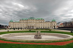 Belvedere Palace - Vienna, Austria Royalty Free Stock Photos