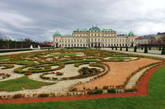 Belvedere Palace - Vienna, Austria Stock Photos