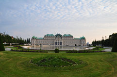 Belvedere Palace in Vienna, Austria Royalty Free Stock Photography