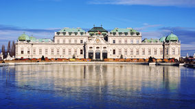 Belvedere Palace, Vienna, Austria Royalty Free Stock Images