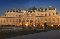 Belvedere Palace in Vienna Stock Image
