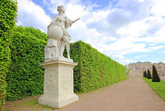 Belvedere Palace in Vienna. Austria Stock Photo
