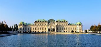 Belvedere Palace, Vienna Royalty Free Stock Photos