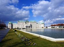 Belvedere palace Royalty Free Stock Image
