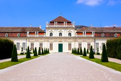 Belvedere Palace, Vienna Royalty Free Stock Images