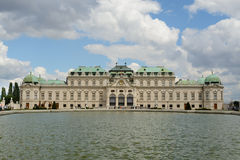 Belvedere palace in Vienna. A view of the Belvedere palace (museum) in Vienna, Austria royalty free stock photo