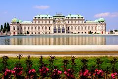 Belvedere Palace, Vienna Stock Photography