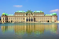 Belvedere Palace Royalty Free Stock Photography
