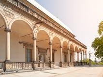 Belvedere - palacio de verano real del ` s de la reina Anne cerca del castillo de Praga, Hradcany, Praga, República Checa foto de archivo libre de regalías