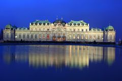 Belvedere-Palast in Wien Lizenzfreies Stockbild