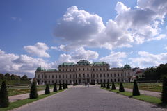 Belvedere paleis Stock Foto's