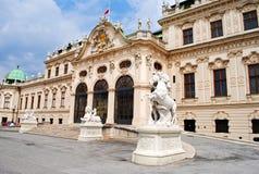 Belvedere Paleis royalty-vrije stock afbeelding