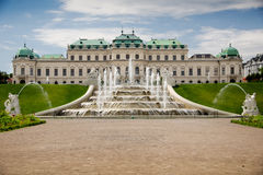 Belvedere paleis Stock Afbeeldingen