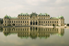 Belvedere Paleis Royalty-vrije Stock Fotografie