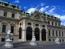 Belvedere paleis in Wenen Royalty-vrije Stock Afbeelding