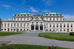 Belvedere Paleis, Wenen Stock Afbeelding