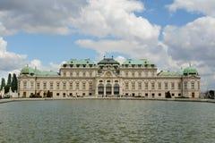 Belvedere Paleis in Wenen Royalty-vrije Stock Foto