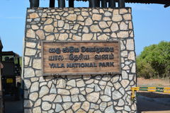 Belvedere Paleis in Wenen Het Nationale Park van Yala Sri Lanka stock afbeelding