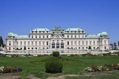 Belvedere paleis royalty-vrije stock foto's