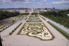 Belvedere park royalty-vrije stock afbeelding