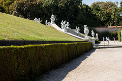 Belvedere park in Vienna Royalty Free Stock Image
