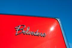 belvedere plymouth royaltyfri bild