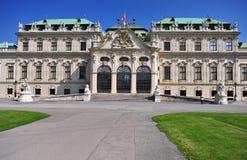 Belvedere residense, Austria Royalty Free Stock Images