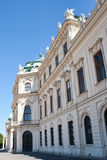 Belvedere-Schloss in Wien stockfoto