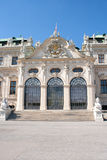 Belvedere-Schloss in Wien lizenzfreies stockbild