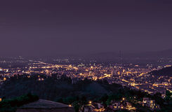 Belvedere. A sight from Belvedere (a place above Brașov city in Romania Royalty Free Stock Photo