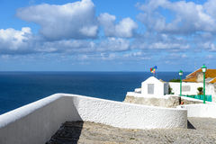 Belvedere in Sitio, Nazare (Portugal) Royalty Free Stock Photography