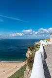 Belvedere in Sitio, Nazare (Portugal) Stock Images