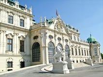 Belvedere superior, Viena, Áustria fotos de stock
