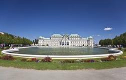 Belvedere superiore del palazzo storico, Vienna Fotografia Stock