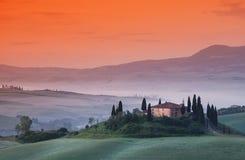 Belvedere Toscana Immagine Stock