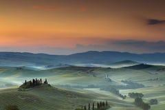 Belvedere in Toscanië stock foto