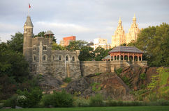 Belvedere Tower Central Park New York City Royalty Free Stock Images